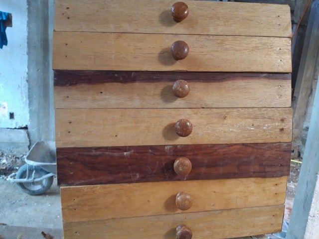 Gavetas em madeiras