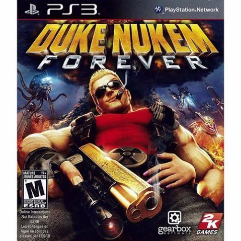 Game Duke Nukem Forever para PS3 - NOVO