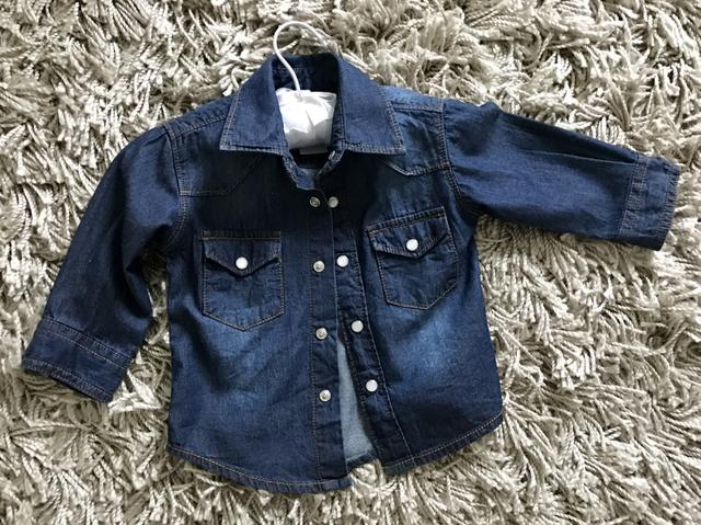 Camisa Jeans Baby