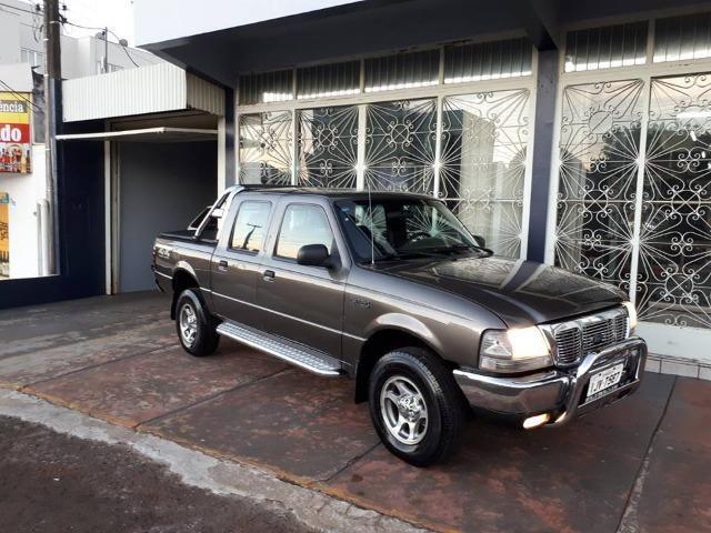 Vendo Ford Ranger XLT 4X4 2.5 CD 13D - Turbo Diesel Intercooler - A mais Completa