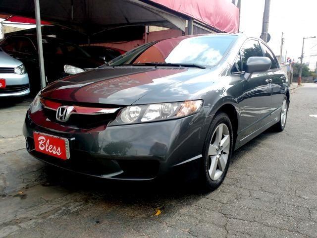 Honda Civic Lxs 1.8 Automatico Flex Completo