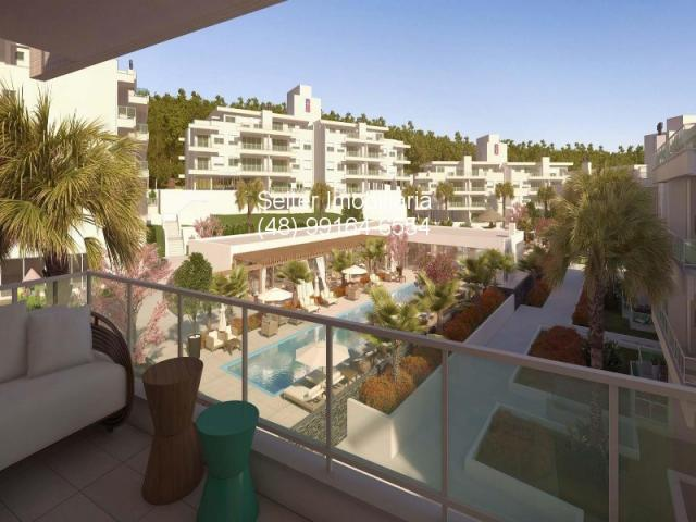 Apartamento de 2 dormitorios com suite em condominio na planta