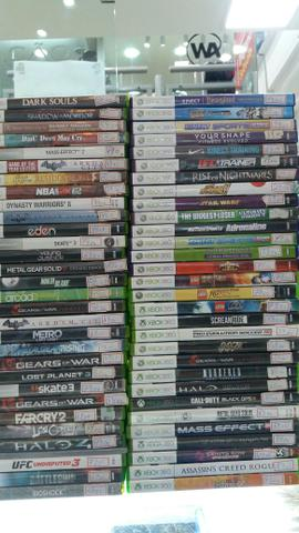 Troca e venda de jogos usados de Xbox 360 leia anuncio