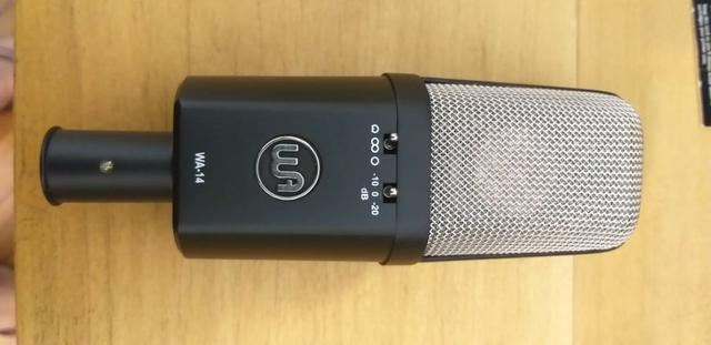 Microfone Warm Audio WA-14 Clone do AKG C414 - Foto 3
