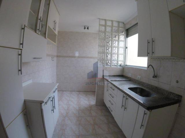 Apartamento com 2 dormitórios para alugar, 52 m² por r$ 1.350/mês - parque são vicente - m - Foto 2