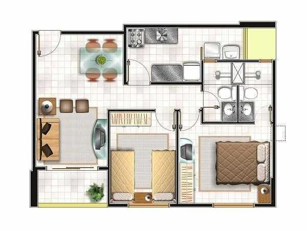 Apartamento de 2 quartos com 57 m2, Sun Towers - R$170.000,00 - Foto 13