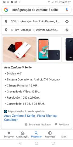 ZenFone 5 Selfie apenas VENDA - Foto 6