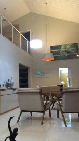 Casa com 5 dormitórios à venda, 360 m² - condomínio parque vale dos lagos - jacareí/sp - Foto 9