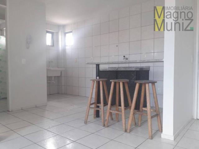 Apartamento com 1 dormitório para alugar, 39 m² por r$ 780/mês - centro - fortaleza/ce - Foto 5