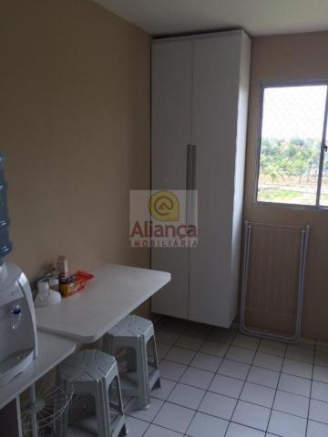 Apartamento para alugar com 2 dormitórios em Cidade satélite, Natal cod:LA-11029 - Foto 2