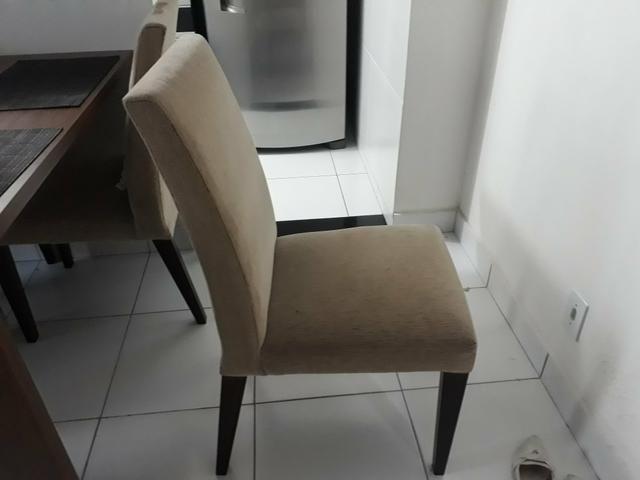 Cadeiras de mesa de jantar (4 cadeira)