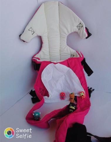 Mamãe Canguru Pink Misto Lindo Gracinha Beybe - Foto 4