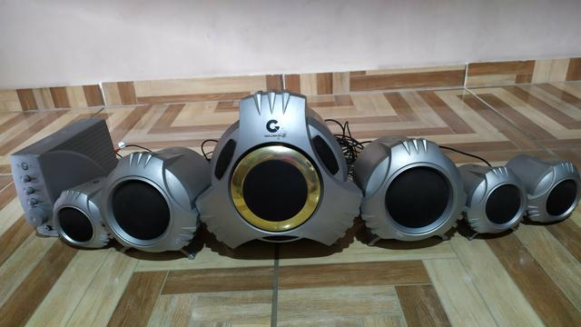 Home theater goldship 5.1 - Foto 4