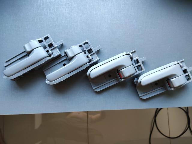 Puxadores da porta internos Corolla e Hilux - Foto 2