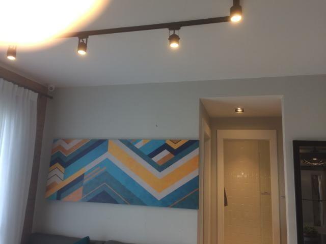 Apartamento sala e quarto varanda com infraestrutura - Foto 14