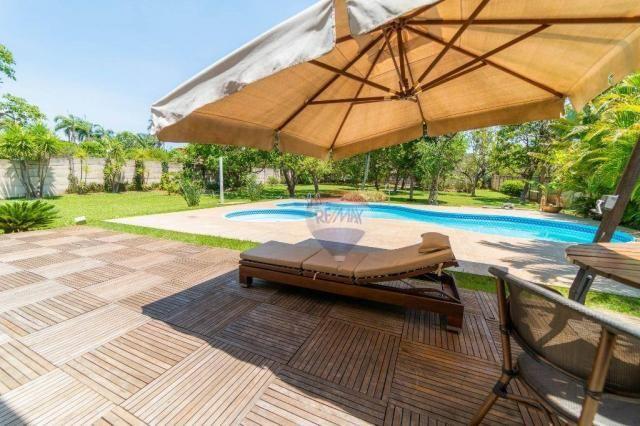 Mansões itaipu vendo linda casa 4 suites, 600m² lote 2500m² - Foto 4