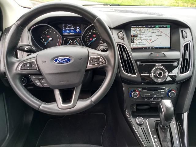 Ford Focus Titanuim 2016 Completíssimo, todas as revisões na concessionária - Foto 15