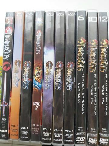 DVD's infantil ThunderCats