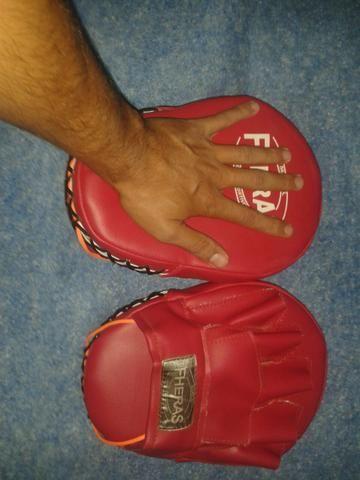 Luvas de manopla para treino de luta - Foto 6