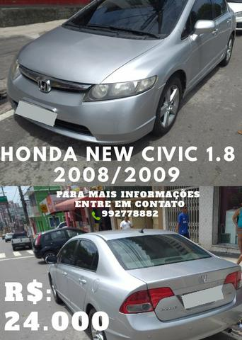 Honda new civic 1.8 08/09