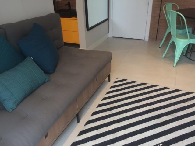 Apartamento sala e quarto varanda com infraestrutura - Foto 3