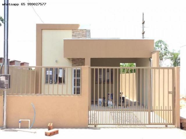 Casa para venda em várzea grande, paiaguas, 2 dormitórios, 1 suíte, 2 banheiros, 2 vagas - Foto 9