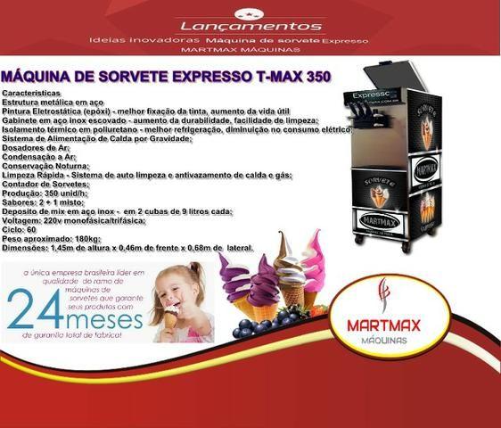 Maquina de sorvete expresso Italianina semi nova - Foto 2