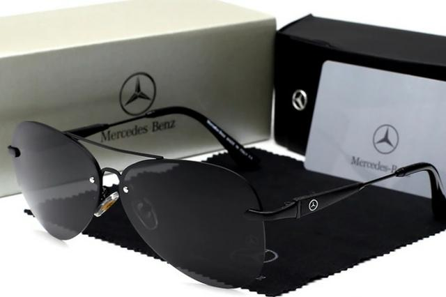 7e78ebbb9 Óculos de sol lentes polarizadas Mercedes Benz Original novo ( Caixa ...