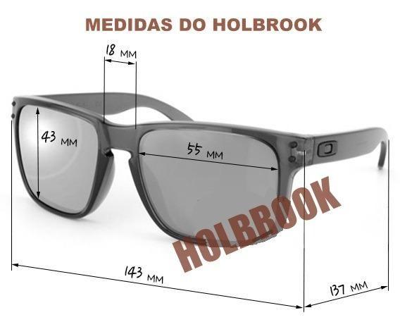 Óculos Oakley Holbrook 100% Polarizado - Bijouterias, relógios e ... 4e46111aa0