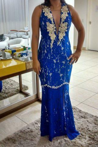 12465385114ce Vestido de festa Azul - Tam 38 40 - Roupas e calçados - St H ...