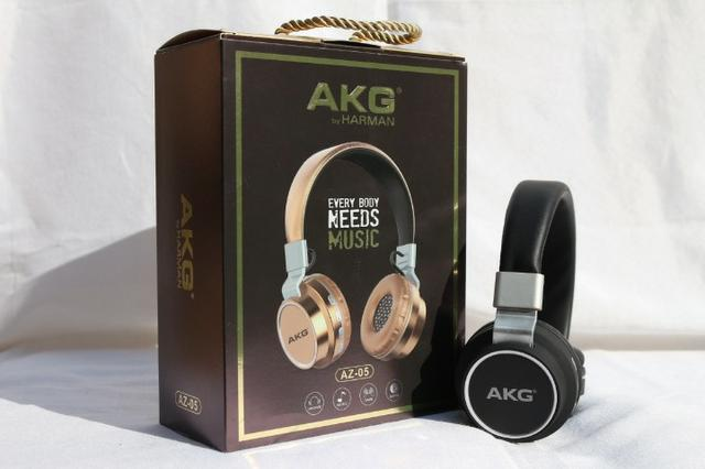 Fone Bluetooth akg Az 05 Headfone-(Loja na Cohab)- Total Segurança na Sua Compra