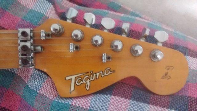 Guitarra Tagima T-650 FL Floyd Rose Raridade as Primeiras - Foto 3