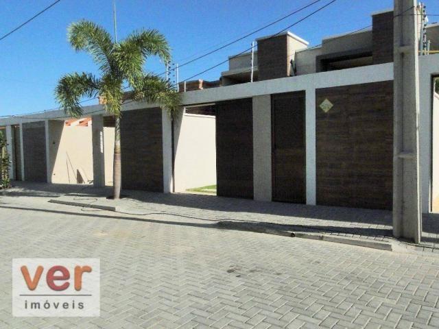 Casa à venda, 146 m² por R$ 404.000,00 - Centro - Eusébio/CE - Foto 3