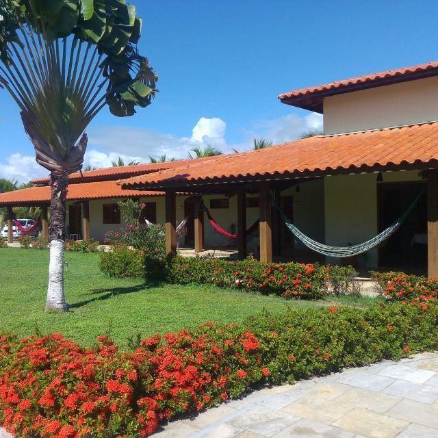 236- Apenas venda!Mansão em Serrambi / 1.300m² / 7 suites / luxo / piscina com raia - Foto 7