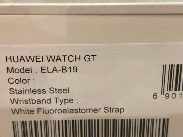Smartwatch Huawei GT, Branco, Lacrado, Zero, Ela-B19 - Foto 4