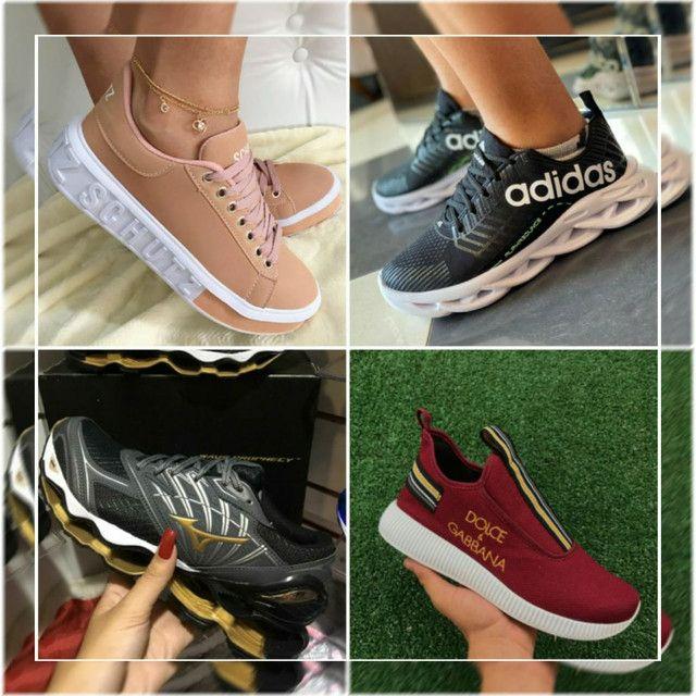 Mizunos, Nikes, Adidas e Diversos