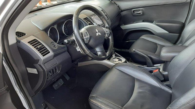 Mitsubishi Outlander 3.0 4X4 GT V6 2012 Prata Completíssima, Excelente Estado - Foto 8