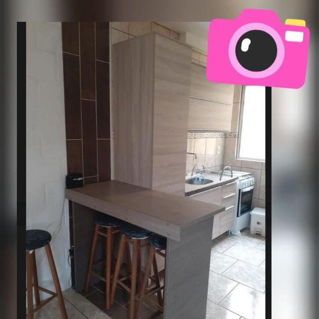 Apartamento semi mobiliado, ótimo apartamento Apto 2 quartoso. - Foto 5