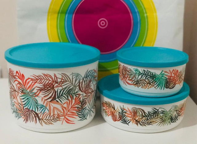 Tupperware Exclusivo Jogo Safari 3 Pçs