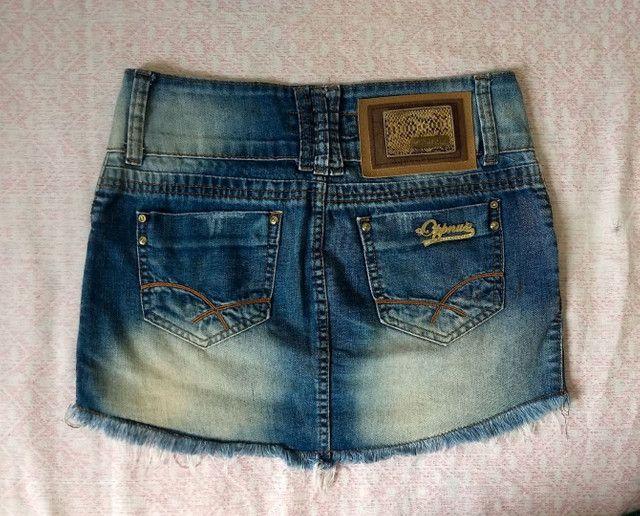Saia jeans oppnus - Foto 2