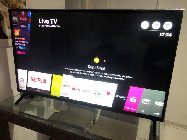 """Smart TV LG 50"""" inteligência artificial WebOS completa com nota fiscal  - Foto 6"""