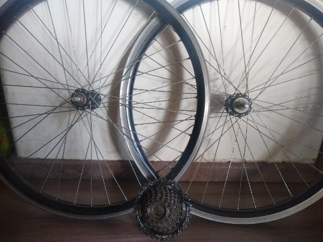 Peças bicicleta