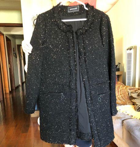 Casaco de lã da Sholder TAM. G - Foto 4