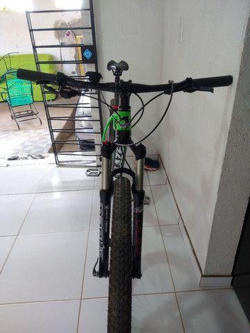 Bike aro 29 venzo x-blaze eno carbono  valor 9.000 - Foto 5