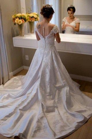 Vestido de noiva Lúcia Spessato - Foto 3