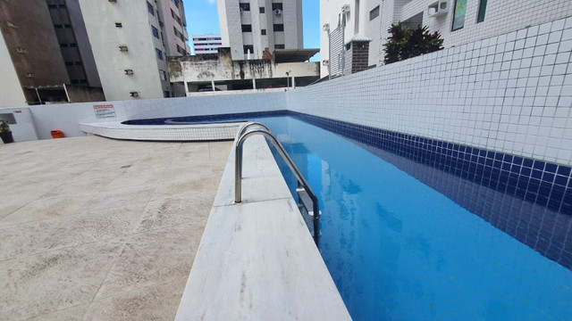 009L - Apartamento tipo flat para alugar, 1 quarto, Mobiliado, lazer, em Boa Viagem