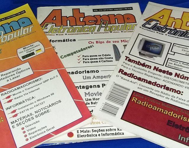 Revistas Antenna Eletrônica Popular