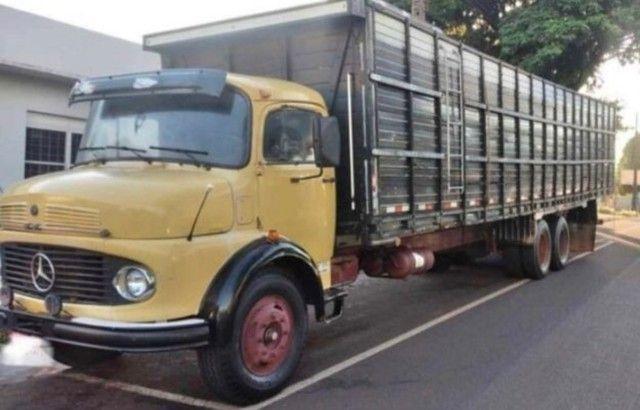 Caminhão Mercedes benz boiadeiro 1113