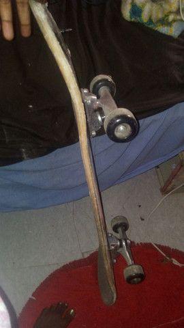 Skate do homem aranha - Foto 2