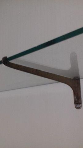 prateleira de vidro antiga - Foto 2